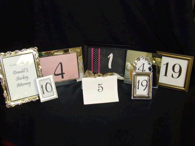 Where to find TABLE NUMBER STYLES in Ft. Wayne