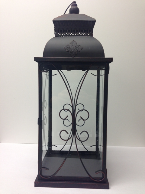 Where to find LANTERN METAL BLACK 23.5 x 8 in Ft. Wayne