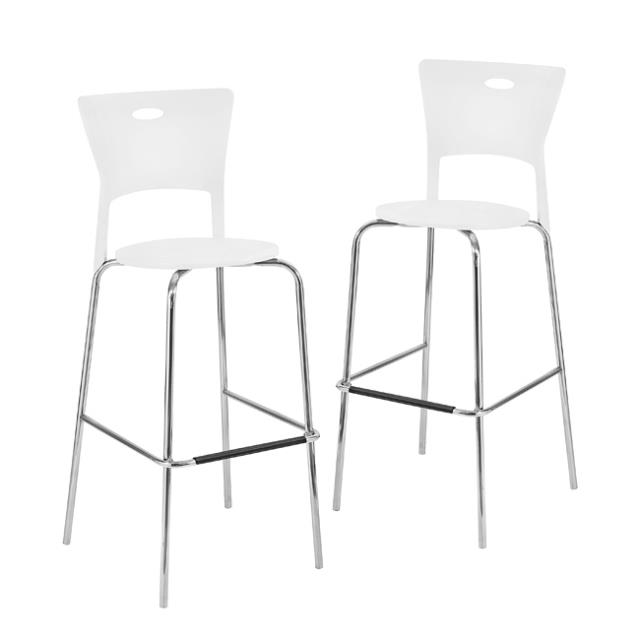 Where to find BARSTOOL WHITE CHROME STACKING in Ft. Wayne