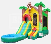 Where to find Moonwalk JUNGLE SLIDE COMBO 27x13x13  T in Ft. Wayne