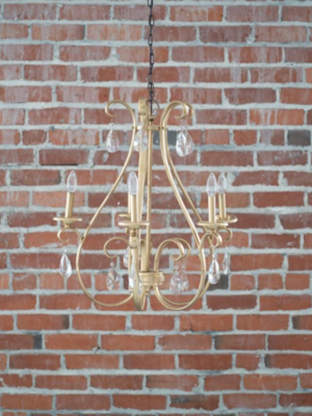 Where to find Chandelier 5 light w crystal 25x25x30  t in Ft. Wayne