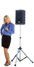 Rental store for PA CD-WIRELESS W HANDHELD MIC BLUE in Ft. Wayne IN