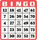 Rental store for BINGO CARD - Large Print EACH FOR EXTRAS in Ft. Wayne IN