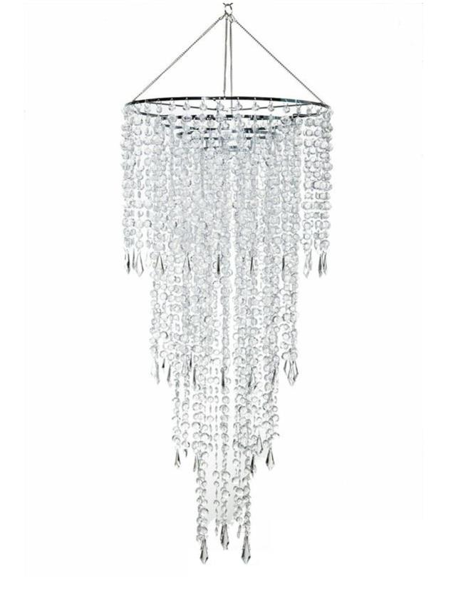 Where to find CHANDELIER CRYSTAL TIERED 24 D X 44 L in Ft. Wayne
