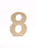 Rental store for TABLE NUMBER GLITTER Gold  4x6  tall in Ft. Wayne IN