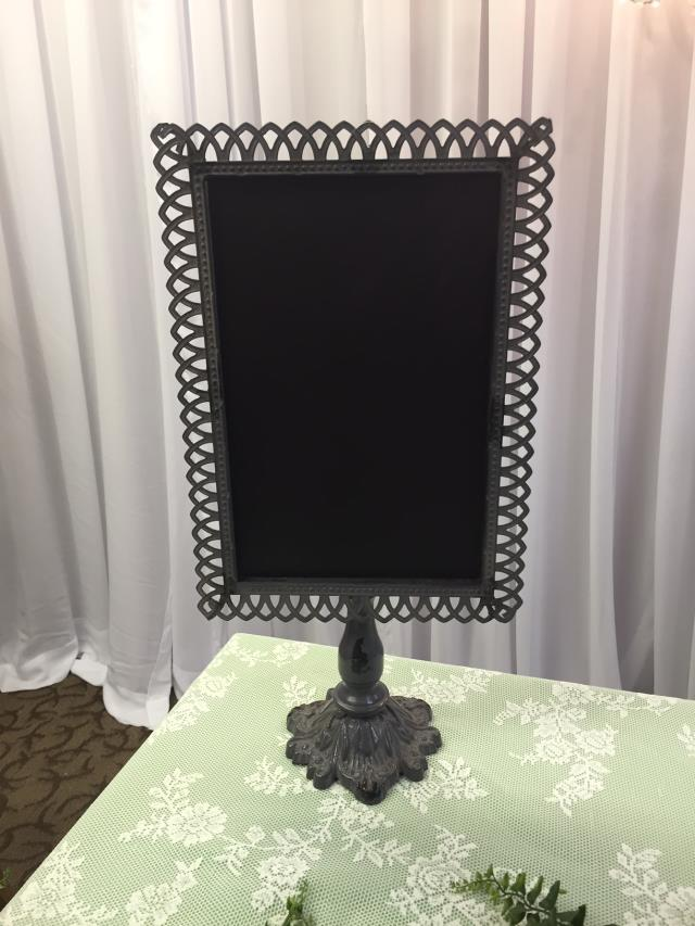 Where to find CHALKBOARD METAL TABLETOP 20 H in Ft. Wayne