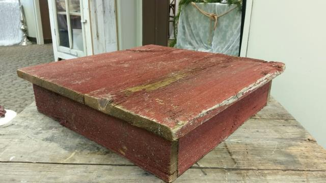 Where to find PEDESTAL BARNWOOD RED SQ 21 in Ft. Wayne
