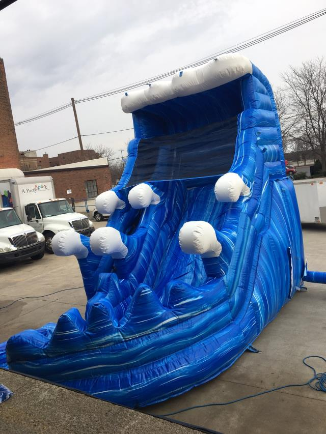 Inflatable Water Slides For Rent In Indianapolis