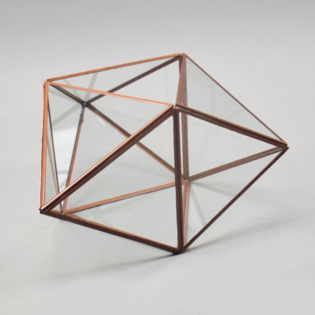 Where to find CENTERPIECE GEOMETRIC COPPER 10.5 in Ft. Wayne