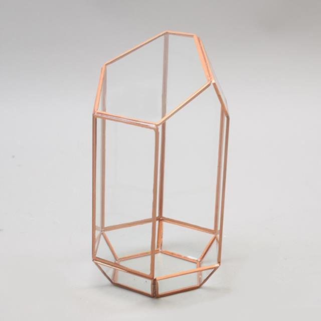 Where to find CENTERPIECE GEOMETRIC COPPER 9.75 in Ft. Wayne