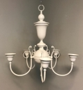 Rental store for CHANDELIER IVORY METAL 22x22x24 H in Ft. Wayne IN
