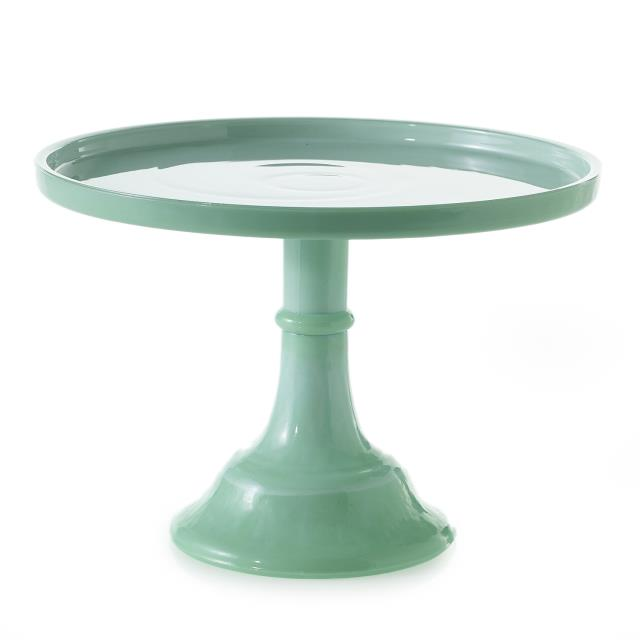 Where to find CAKE PEDESTAL RD JADE 10  x 7  T in Ft. Wayne