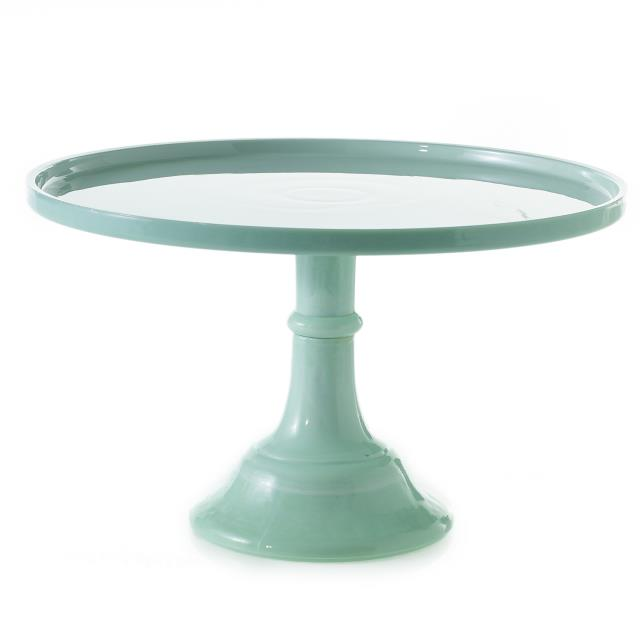 Where to find CAKE PEDESTAL RD JADE 12  x 7  T in Ft. Wayne