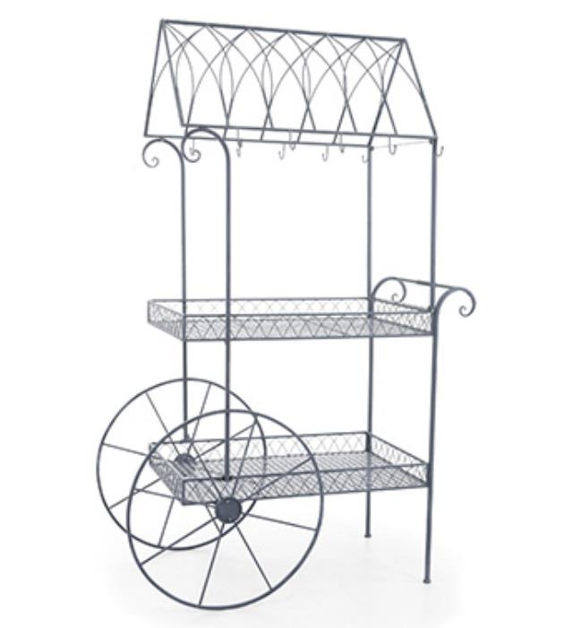 Where to find FLOWER CART IRON GREY in Ft. Wayne