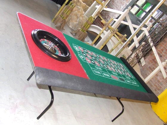 Where to find ROULETTE TABLE KIT 1, 81x37 in Ft. Wayne