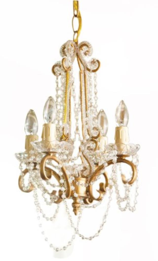 Where to find CHANDELIER GOLD w   CRYSTALS in Ft. Wayne