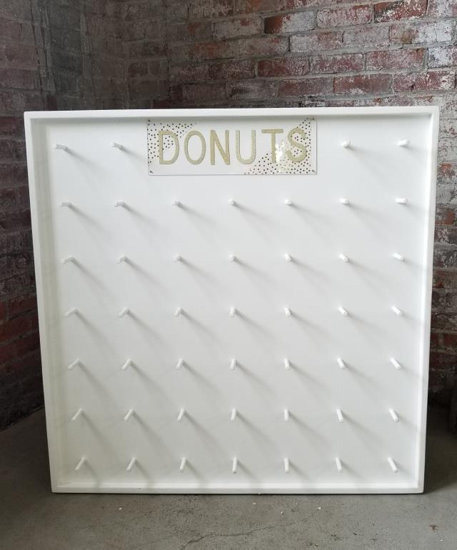Where to find DONUT WALL WOOD WHITE 42 in Ft. Wayne