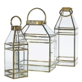 Rental store for LANTERN GOLD GLASS 18  H x 6.5  L in Ft. Wayne IN