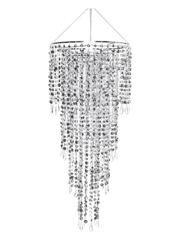 Where to find CHANDELIER SILVER TIERED 24 D X 44 L in Ft. Wayne