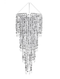 Rental store for CHANDELIER SILVER TIERED 24 D X 44 L in Ft. Wayne IN