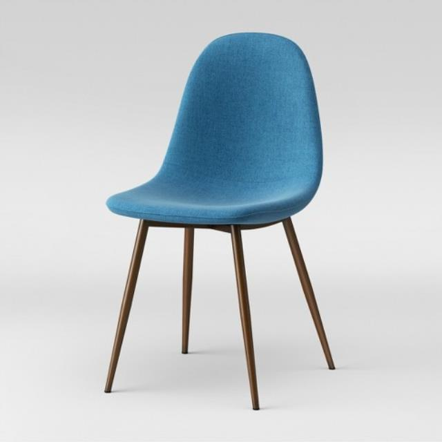 Where to find CHAIR MOD UPHOLSTERED TEAL in Ft. Wayne