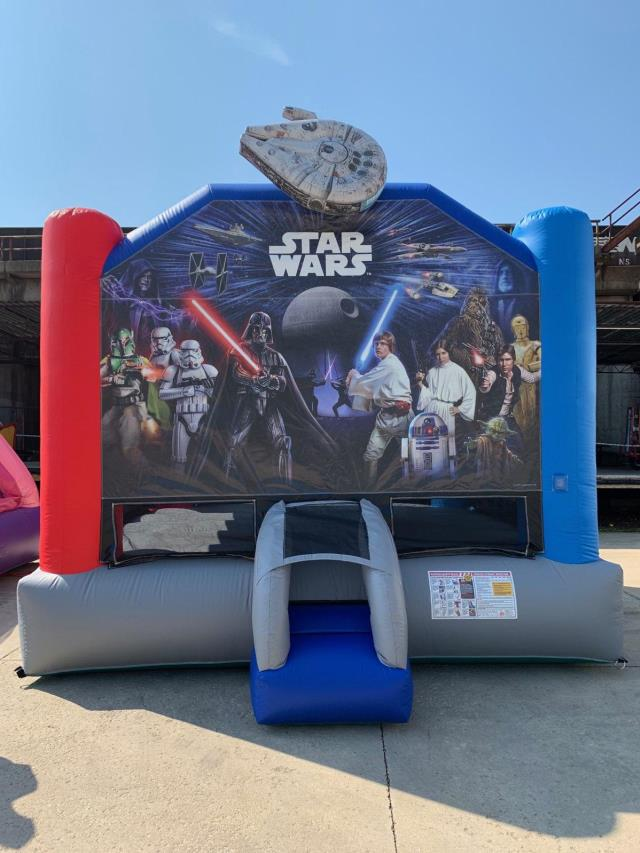 Where to find Moonwalk STAR WARS 17x15x14  TALL in Ft. Wayne