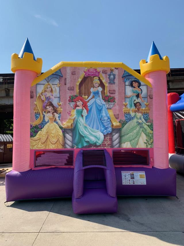 Where to find Moonwalk DISNEY PRINCESS 17x15x14  TALL in Ft. Wayne