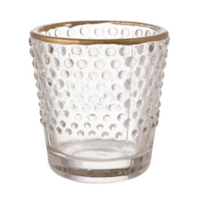 Where to find VOTIVE CLEAR HOBNAIL w GOLD 2.5 in Ft. Wayne