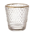 Rental store for VOTIVE CLEAR HOBNAIL w GOLD 2.5 in Ft. Wayne IN