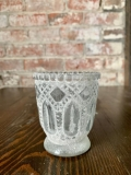 Rental store for VOTIVE HEIRLOOM FROSTED FOOTED 3.25 in Ft. Wayne IN