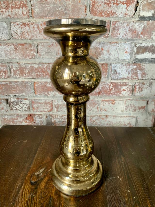 Where to find CANDLESTICK BURNT GOLD MERCURY 4  x 13 in Ft. Wayne