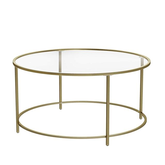 Where to find TABLE GLASS with GOLD FRAME 35 in Ft. Wayne