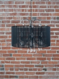 Rental store for CHANDELIER BLACK SHEER w CRYSTALS in Ft. Wayne IN