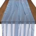 Rental store for CHIFFON RUNNER DUSTY BLUE 29  x 122 in Ft. Wayne IN
