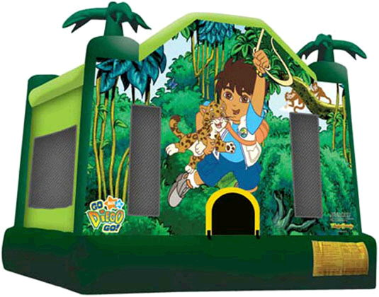 Where to find Moonwalk GO DIEGO GO 12x13x13  TALL in Ft. Wayne