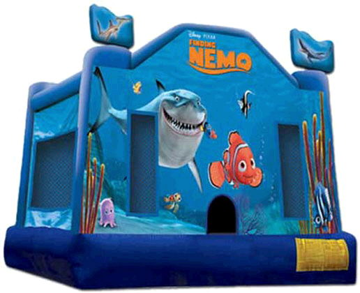 Where to find Moonwalk FINDING NEMO 14x15x12  TALL in Ft. Wayne