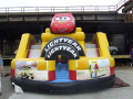 Rental store for Moonwalk DISNEY CARS w SLIDE 29x17x15  T in Ft. Wayne IN