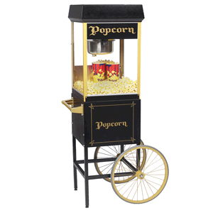 Where to find POPCORN 8 OZ BLACK w CART in Ft. Wayne