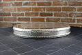 Rental store for CAKE STAND ROUND SILVER SCROLL 19x2.5 in Ft. Wayne IN