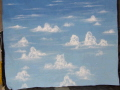 Rental store for BACKDROP SKY w CLOUDS 12 w x 11  TALL in Ft. Wayne IN