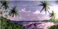 Rental store for BACKDROP TROPICAL OCEAN 20  x 8 t in Ft. Wayne IN