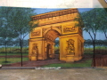 Rental store for BACKDROP ARC DE TRIOMPHE 20 w x 8 t in Ft. Wayne IN