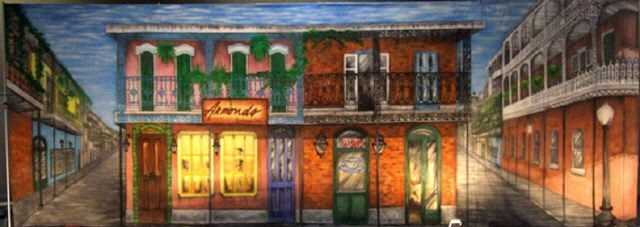 Backdrop French Quarter 40 Foot W X 14 Foot T Rentals Ft