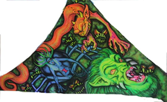 Where to find BACKDROP GOBLINS SPANDEX 19 x18 x27 in Ft. Wayne