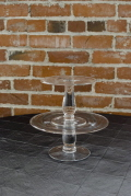 Rental store for CAKE PLATE ROUND GLASS 7 x 6 in Ft. Wayne IN