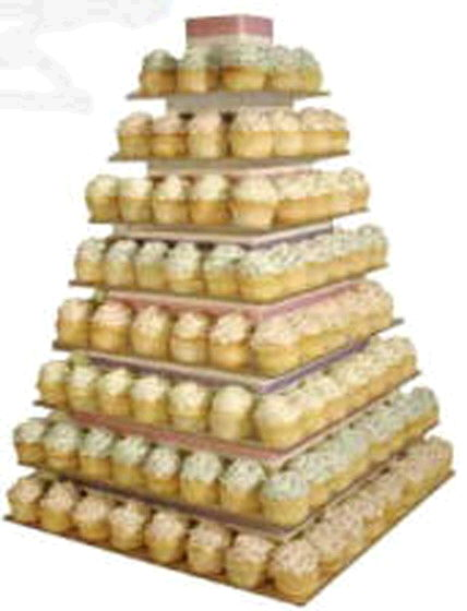 CUPCAKE TOWER 9 PC ACRYLIC Rentals Ft Wayne IN Where To Rent