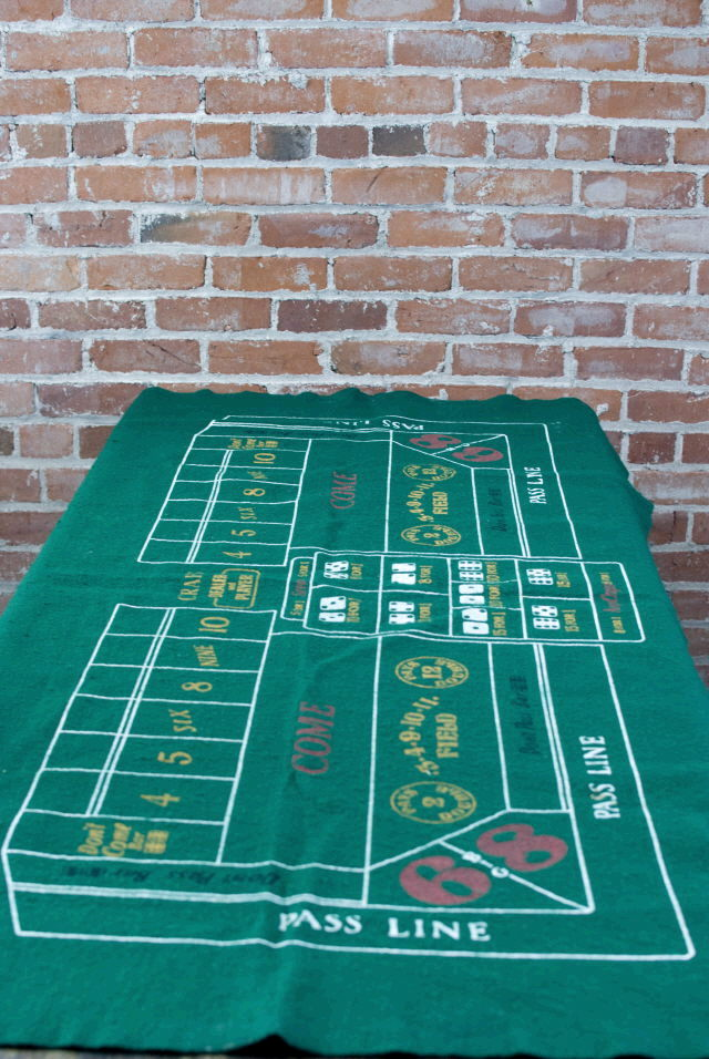 Where to find CRAPS LAYOUT-DICE-RAKE -BUMPER in Ft. Wayne