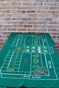 Rental store for CRAPS LAYOUT-DICE-RAKE -BUMPER in Ft. Wayne IN