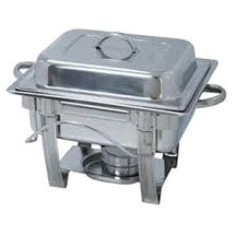 Where to find CHAFER 4 QT SQUARE STAINLESS in Ft. Wayne