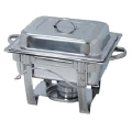 Rental store for CHAFER 4 QT SQUARE STAINLESS in Ft. Wayne IN